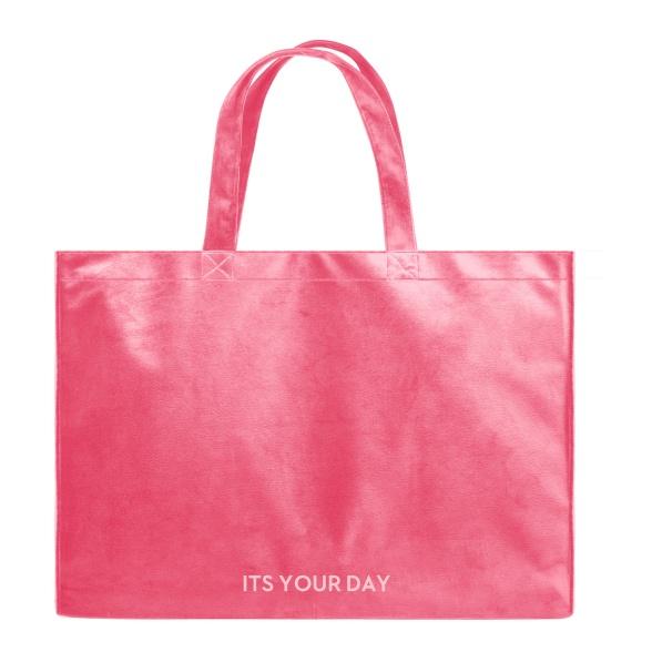 Its Your Day - Velvet Shopper Bag VEBL0041