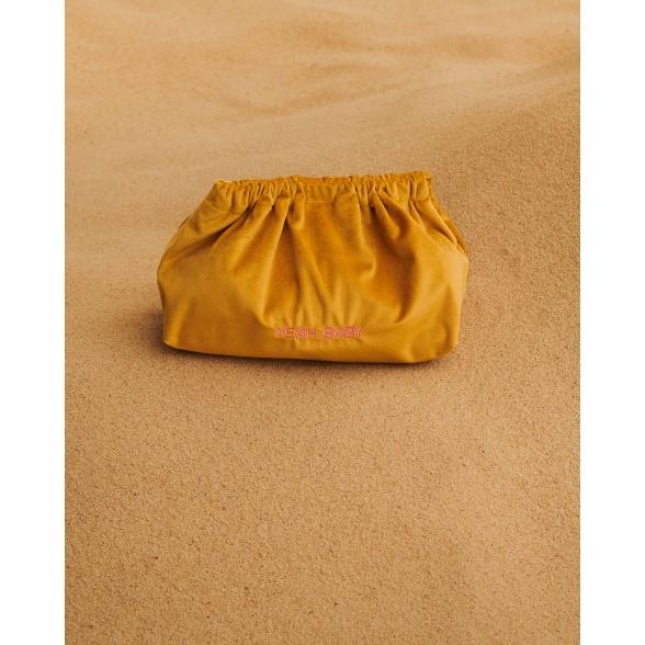 Oh Happy Day - Velvet Clutch Bag VEBL0030
